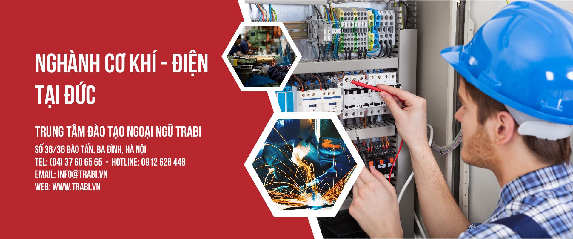 Ngành cơ khí điện tử tại Đức 2019