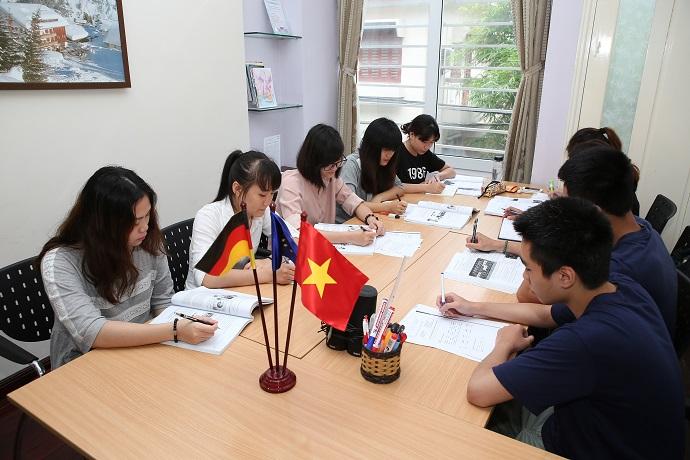TRABI - trung tâm đào tạo học tiếng Đức A1, A2, B1, B2
