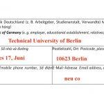 Hướng dẫn điền đầy đủ thông tin đơn xin visa du học Đức (4)