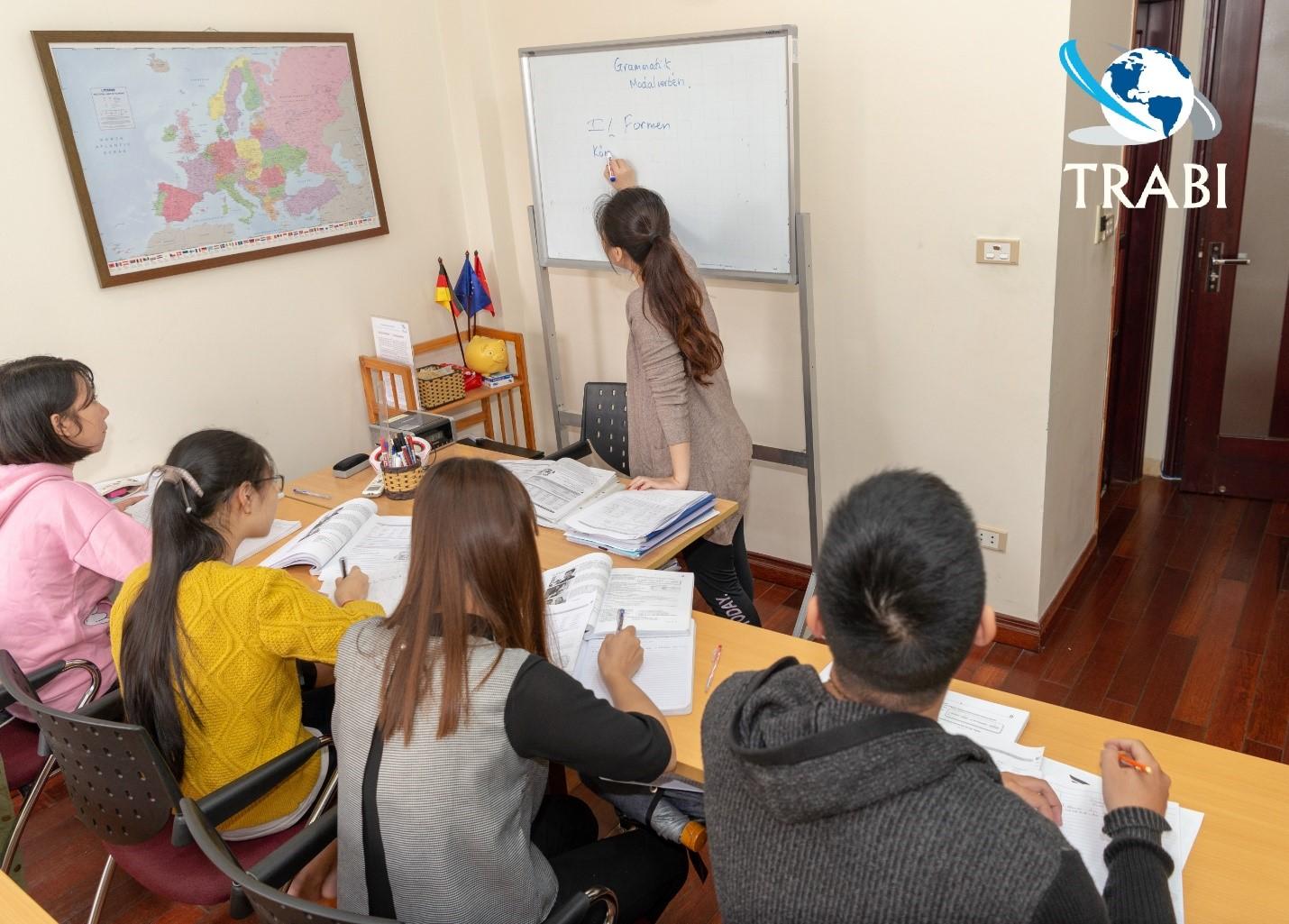 Trung tâm đào tạo ngoại ngữ Trabi