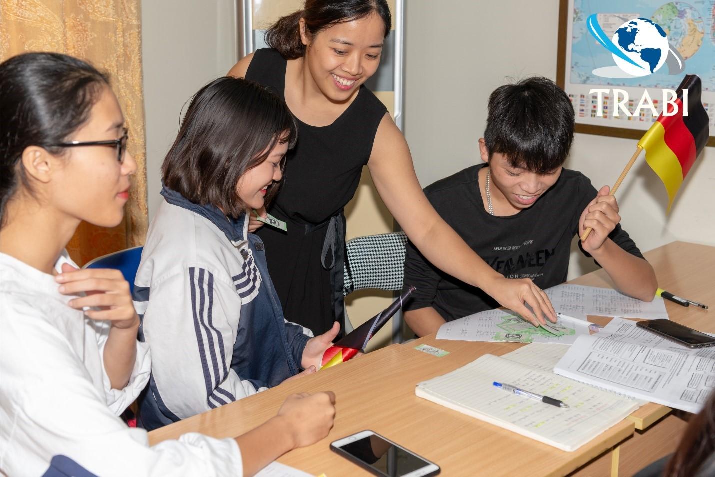 Học tiếng Đức tại trung tâm TRABI