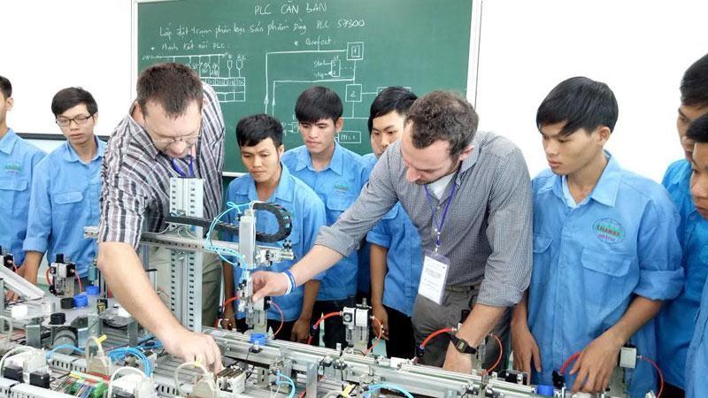 Ở Đức có nhiều trường dạy nghề nổi tiếng