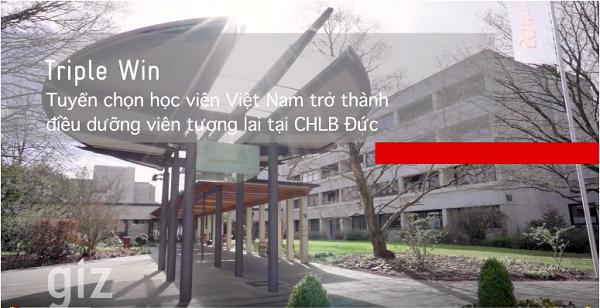 TRABI - GIZ mở ra cơ hội du học nghề điều dưỡng tại CHLB Đức