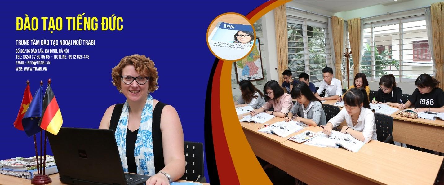 Học tiếng Đức hiệu quả cùng trung tâm TRABI