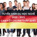 Tuyển sinh du học nghề Đức 2020 (1)