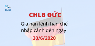 Du học nghề Đức 2020 - Lệnh hạn chế nhập cảnh