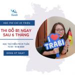 Học tiếng Đức B1 với TRABI