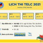 lich thi telc 2021 tai HN TPHCM