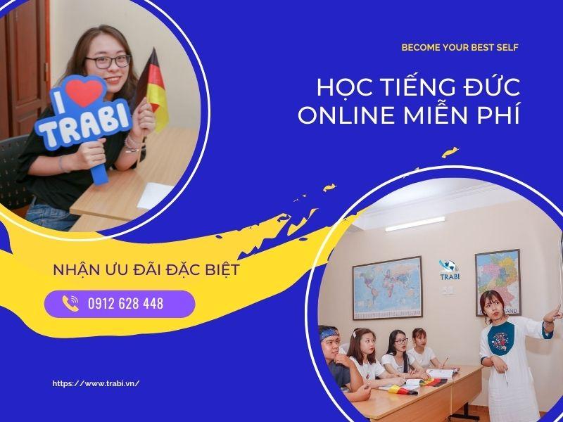học tiếng đức online miễn phí