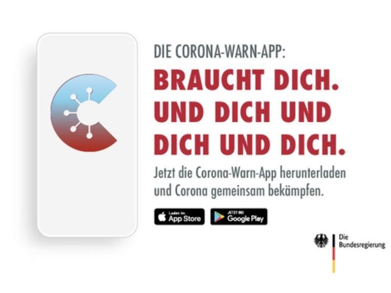 ứng dụng cảnh báo corona tại Đức